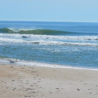 summer's here on delmarva...skin and small waves Delmarva