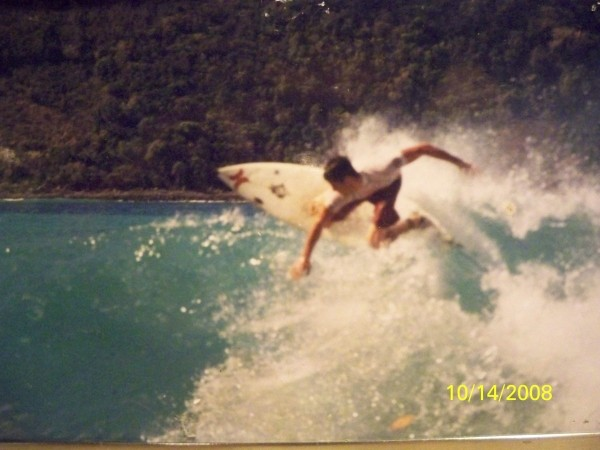 Vacation. Caribbean, surfing photo