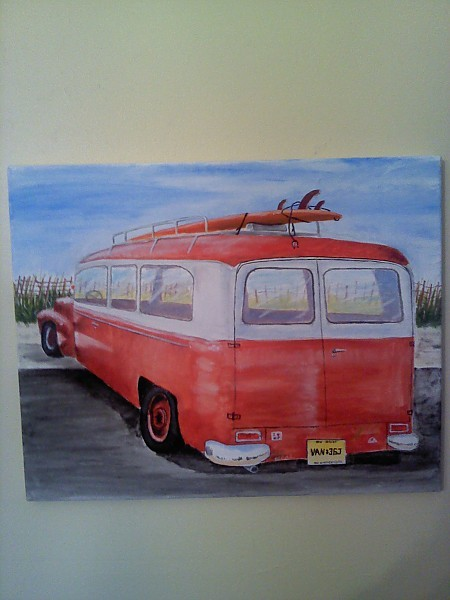 018. United States, Surf Art photo