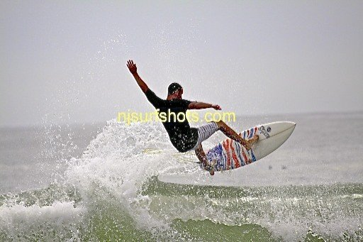Side Shot. New Jersey, Surfing photo