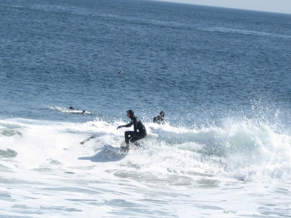 3/22/09 Squan. New Jersey, surfing photo