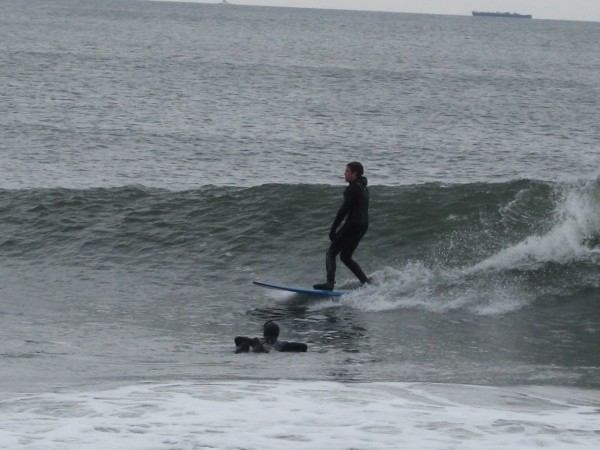 4/7/09 Squan. New Jersey, Surfing photo