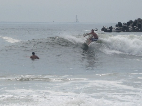 June 2009 Manasquan Nj. New Jersey, Surfing photo