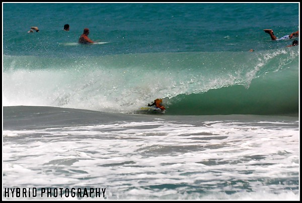 Bodyboarder Barreled for more pics please visit: https://www.facebook.com/HybridPhotographyFL