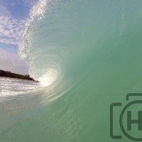 Juno Beach - January 6th, 2014 First Winter Swell of