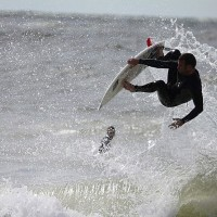 sandkey part 2 cold front waves. West Florida, Surfing photo