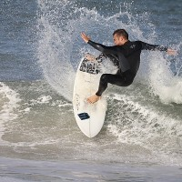 presidents day surfing at sandkey.. West Florida, Surfing photo
