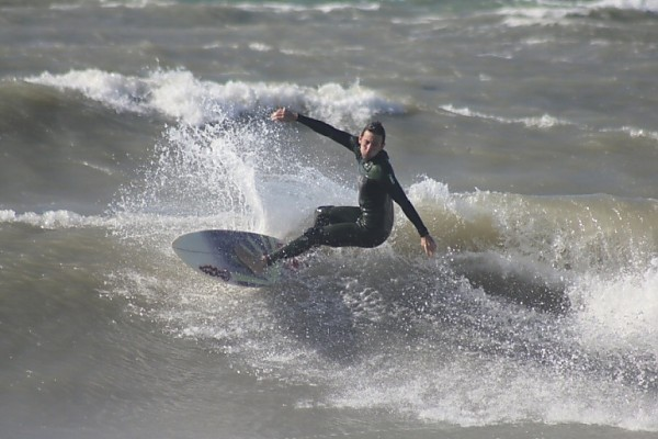 last winter photos from sandkey.. West Florida, Surfing photo