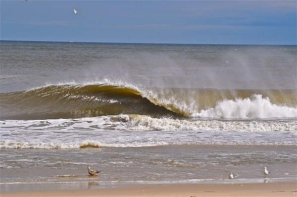 Apri. Yay for flatness!. New Jersey, Empty Wave photo