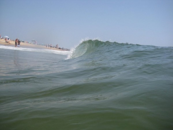 Past Summer Fun little shorebreak. New Jersey, Empty Wave photo