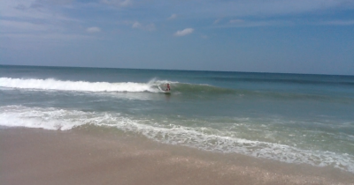 Hurricane Leslie Jensen Beach FL Secret Spot