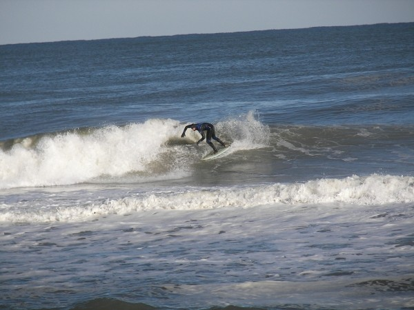 01-31-10 OCMD snow surfing. Delmarva, Surfing photo