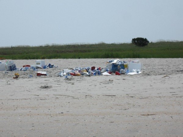 July 4th Party Trashes Barrier Island This is Sunday