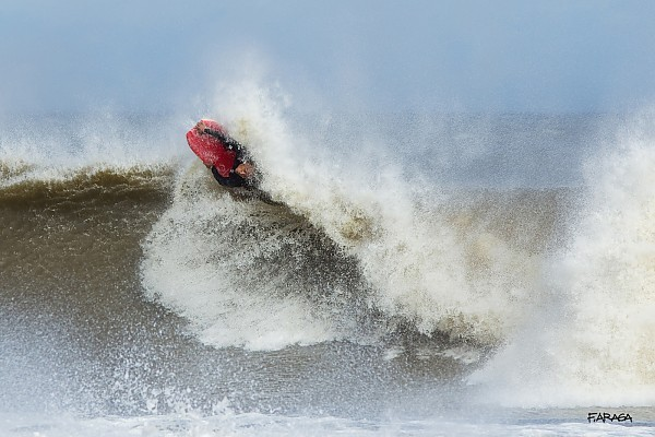 Post Hurricane Irene Bodyboarder airs out.