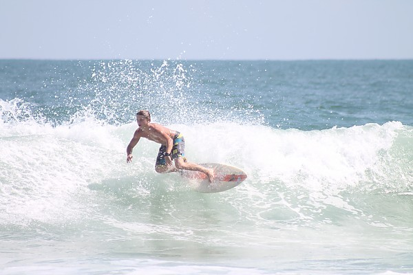 Last Day of Summer. United States, Surfing photo