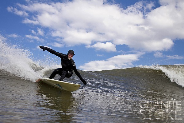 Billy Ritchie Cutback. Northern New England, Surfing photo