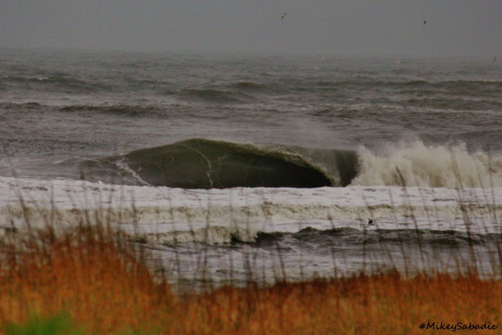 Right Slab bowling up on Hatteras Island