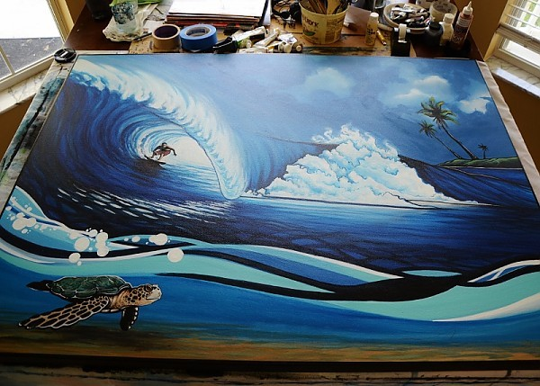 Tabletop. Current work.. United States, Surf Art photo