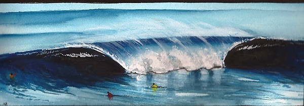Fronton. United States, Surf Art photo