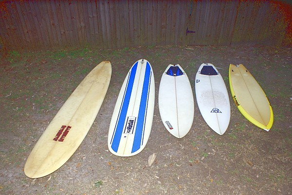Quiver The old boards in my shed