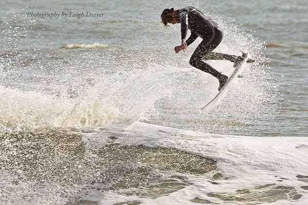 November Surf. Delmarva, Surfing photo