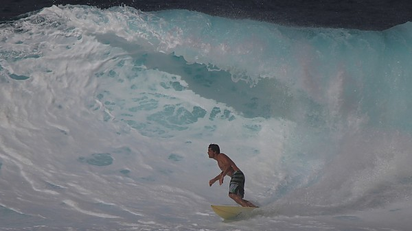 Wavin Large White Pipe wave.. United States, Surfing photo