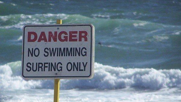 Sign Deefield Beach Deerfield Beach Surf