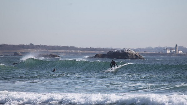 RI 2/22 NB NB swell. United States, Surfing photo