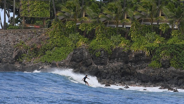 Hawaii Waimea Lite Action. United States, Surfing photo