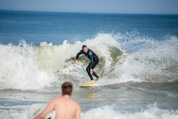 Oct. 1 2013 Surfing 48th st. OC MD