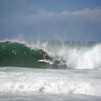Domes First swell of 2011 season. Puerto Rico, Surfing photo
