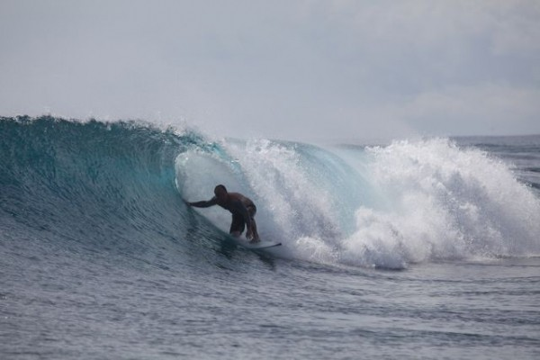 Guess. somewhere in the indian ocean, Surfing photo