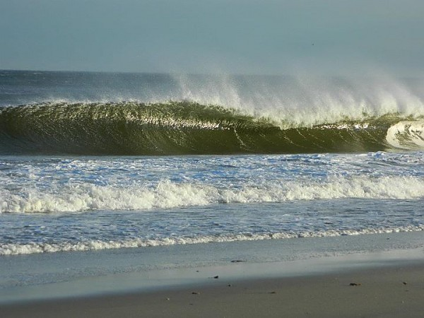 Winter Surf Jerzy surf. New Jersey, Empty Wave photo
