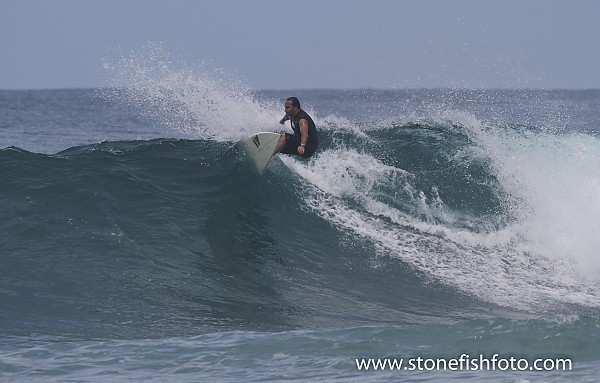 Catching the break in Playa Negra More great surf shots