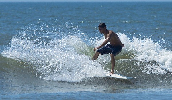 Aaron Doerter Topsail, North Carolina. Southern NC, Surfing photo