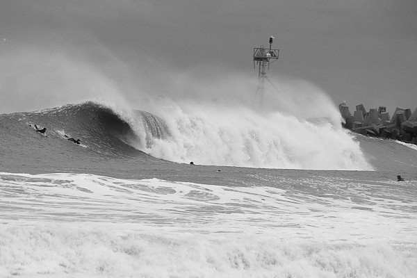 12-21-12 Manasquan Doomsday Swell. New Jersey, Surfing photo