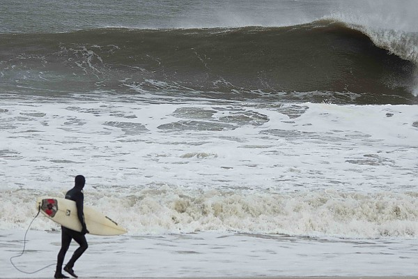 12-21-12 Manasquan Doomsday Swell. New Jersey, Empty Wave photo