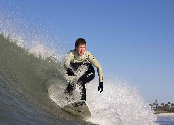 Lido Beach Gulf Coast Waves. West Florida, Surfing photo
