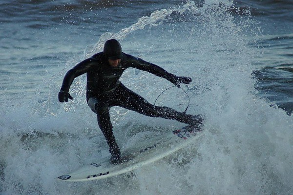 Seaside Heights: February 20th, 2012. New Jersey, Surfing photo
