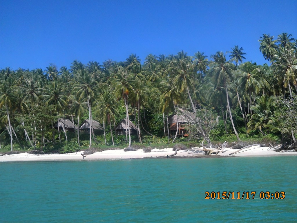 mentawai Surf Retreat - view from the boat