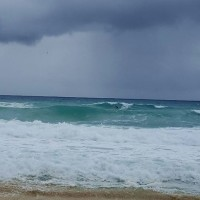 Punta Morena Cozumel Mexico .  6 to 8ft solid swell.