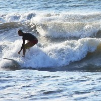bob surfing 3. South Texas, Surfing photo