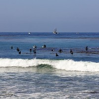 County Line Waiting 5/19/13. SoCal, Surfing photo