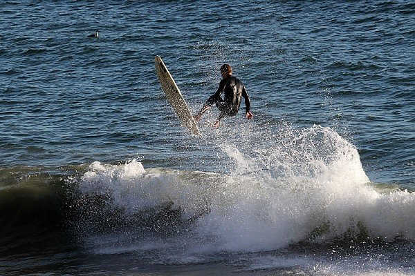 Malibu Behind the Charthouse.. SoCal, Surfing photo