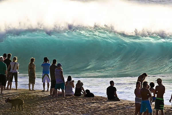 Oahu's North Shore Big day at the Banzai Pipeline