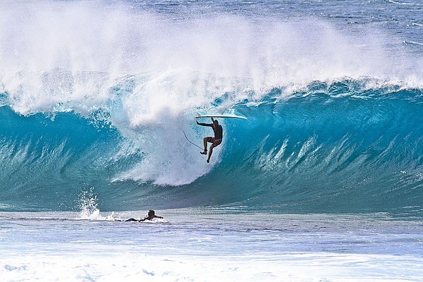 Oahu's North Shore Airborne..... United States, Surfing photo