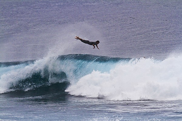 Oahu's North Shore When in doubt.. Bailout
