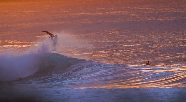 Oahu's north shore Sunset at the pipe.