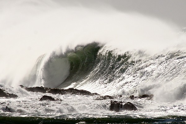 Oahu's North Shore Massive Monday at Waimea Bay