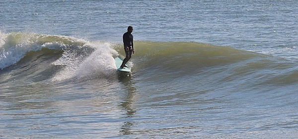 Eduardo almost there. United States, Surfing photo